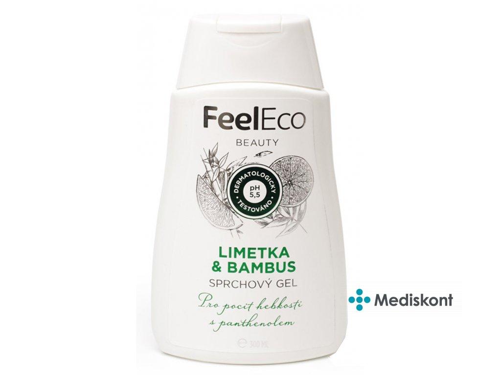 1725 1 sprchovy gel limetka bambus feel eco 300ml