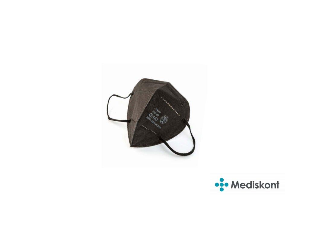 1 ks respirátoru Workshop CARE0086 FFP2 černý