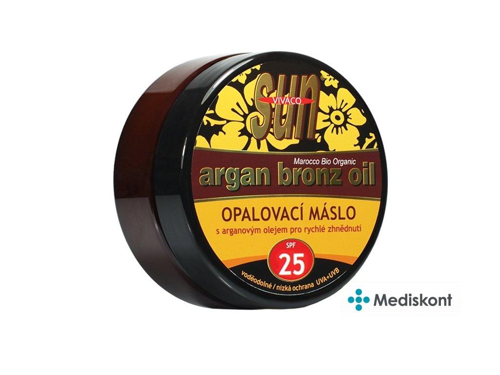 Opalovací máslo s bio arganovým olejem SPF 25 SUN VITAL 200ml