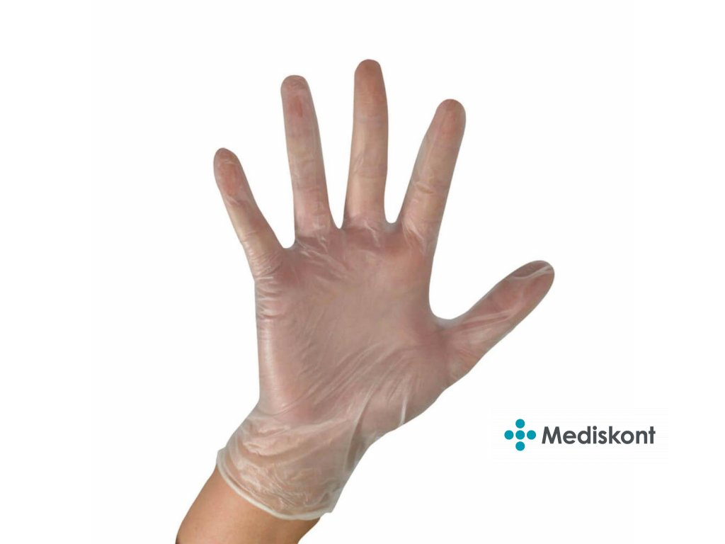vinyl rukavice cerva