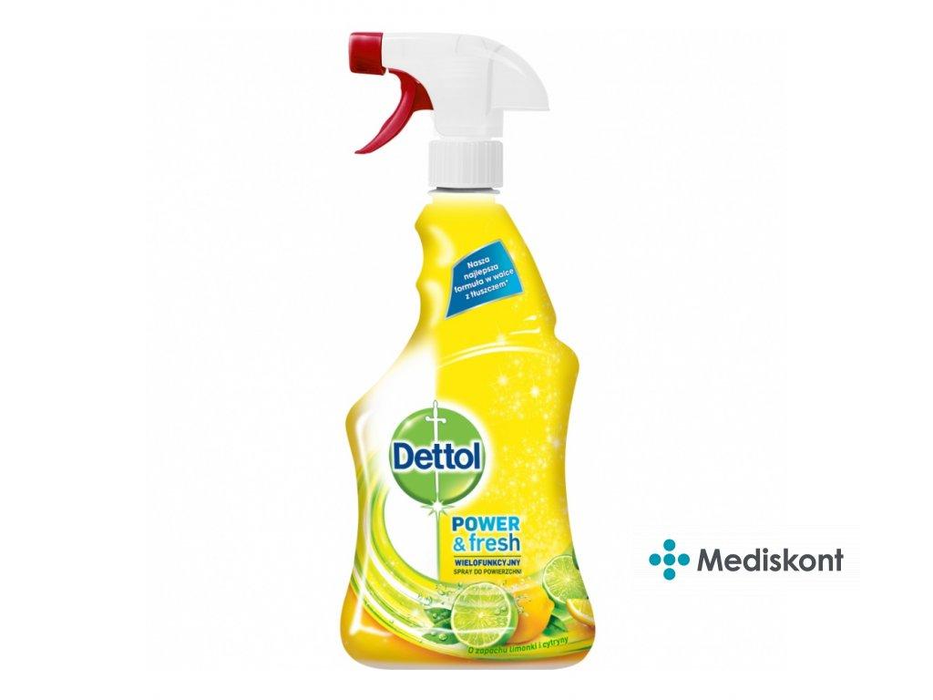 dettol citron a limeta antibakterialni sprej na povrchy 500 ml