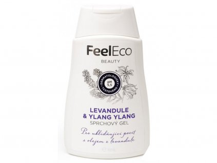1722 1 sprchovy gel levandule ylang ylang feel eco 300ml