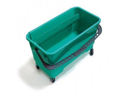 cleanex vedro na koleckach k rozmyvaku na okna 24 litru
