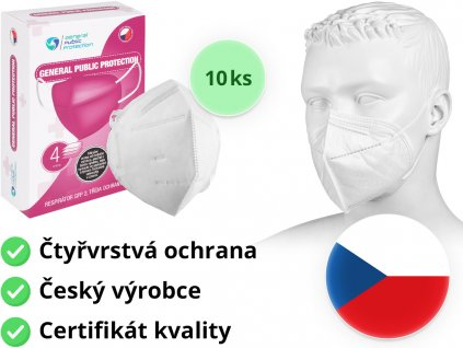 respirator ffp2 general public protection 10ks mediskont