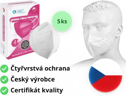respirator ffp2 general public protection 5ks mediskont