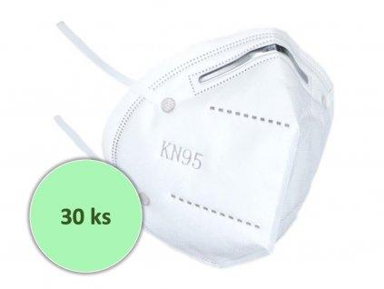 30 ks respirátorů FFP2 / KN95 (39 kč/ks)
