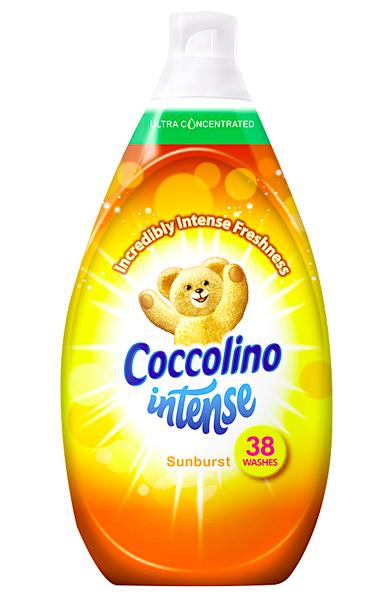 Levně Coccolino aviváž 38 dávek Intense Sunburst 570 ml