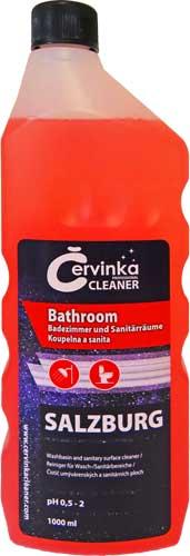 Červinka Czech Republic, s.r.o. Červinka Professional Cleaner SALZBURG intenzivní sanitární čisticí prostředek 1l