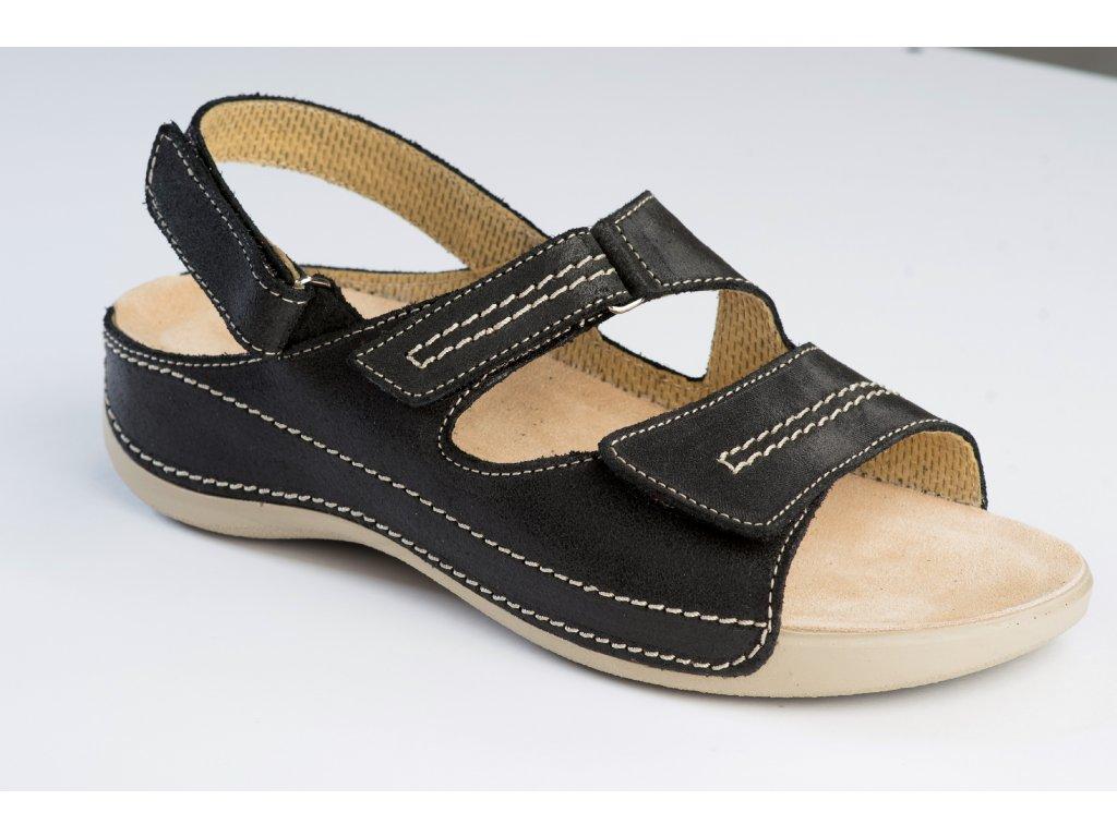 Šárka sandál černá