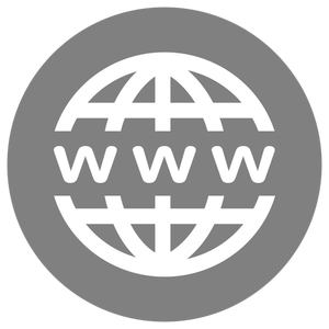WWW-Icon-White-on-Grey
