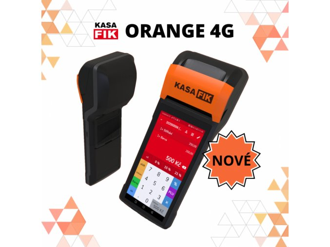 KASA FIK ORANGE set komplet 1