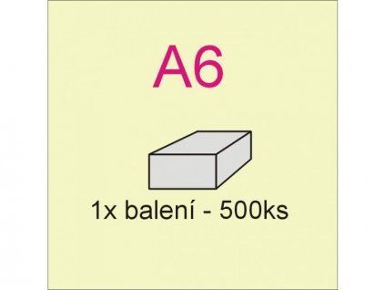 e-recept  papír A6