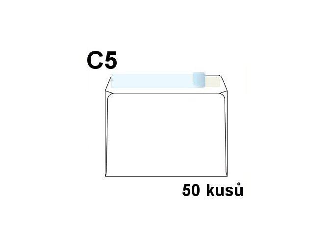 obalka dopisni c5 samolepici s kryci paskou 162x229 mm 50 ks