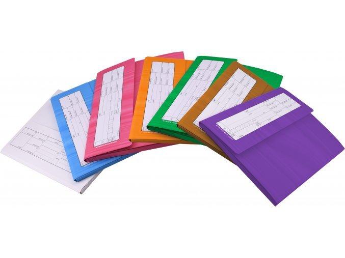 Zdravotní záznam - desky na zdravotnickou dokumentaci