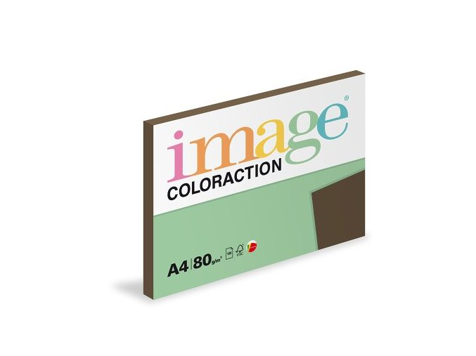 LOSQL MI2 IMAGE COLORACTION RECY BROWN A4 REAM FLAT LEFT 00 13082020