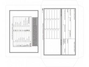 Obálka pro stomatologickou dokumentaci