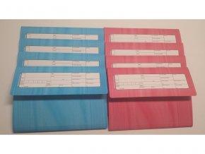 Zdravotní záznam - desky na zdravotnickou dokumentaci 1000 kusů
