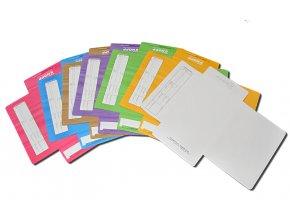 kolaz desky barevne