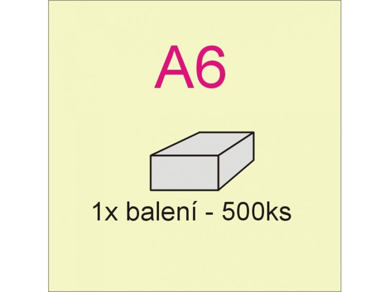 xerox papír A6