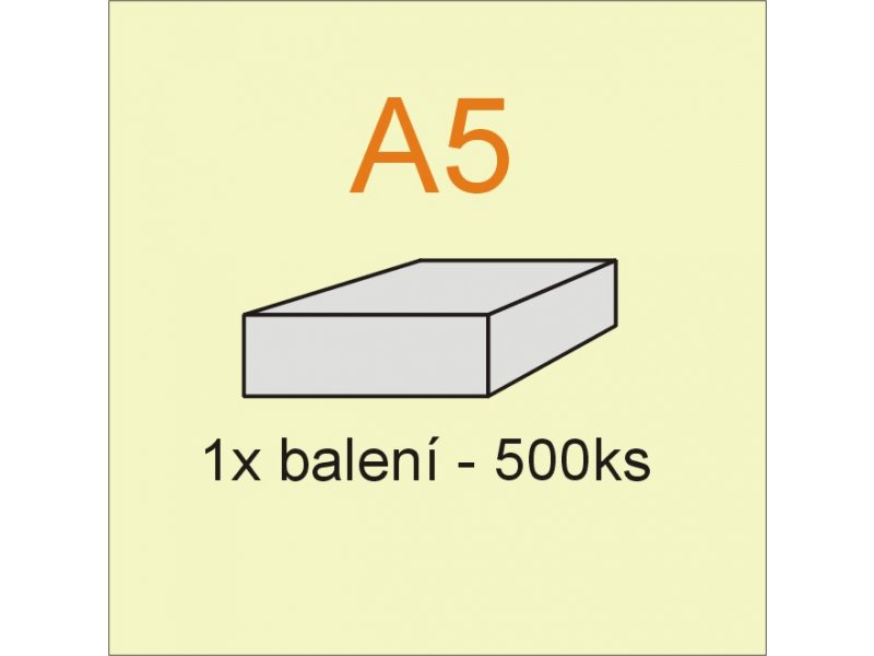 xerox papír A5