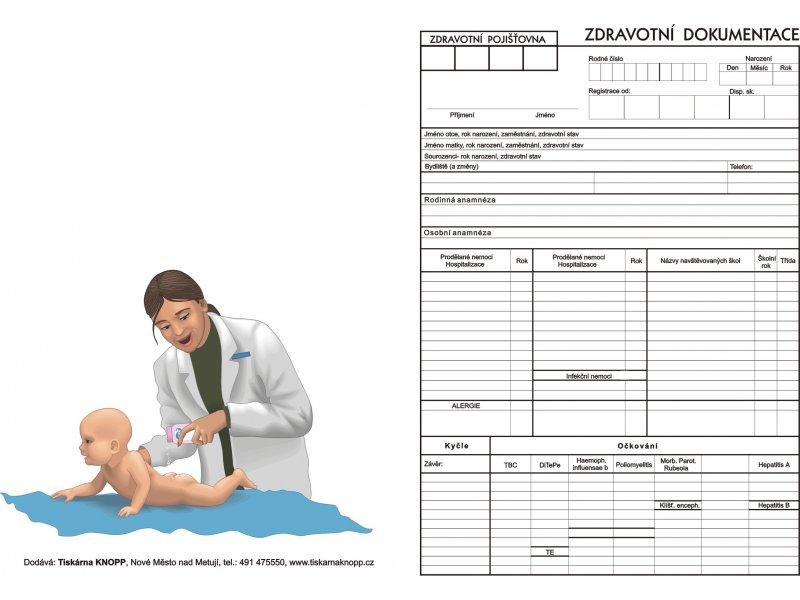 zdravotní dokumentace pro pediatrii