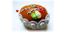 Velikonoční kraslice dutá 100 g  Medový perník. Ruční práce. Handicraft.