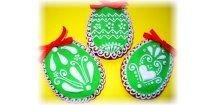 """Kraslička se stužkou """" Ornament"""" 30 g + další varianty  Medový perník. Ruční práce. Handicraft."""