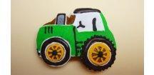 Traktor 30 g  Medový perník. Ruční práce - Hand made.