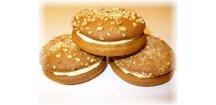 Medovník ořechový 60 g  Cukrářský výrobek s náplní ostatní.