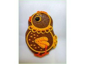 Kuřátko velikonoční 20 g  Medový perník. Ruční práce. Handicraft.