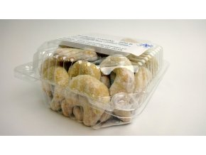 Vanilkové rohlíčky s mandlemi 200 g  Jemné pečivo.
