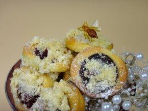 Svatební koláčky 100 ks  - 6 druhů náplní  Svatební koláčky. Jemné pečivo s náplní. Ruční práce. Handicraft.