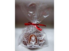 Vánoční perníky mix 45 g - kapřík, zvoneček, stromeček  Medový perník. Ruční práce. Handicraft.