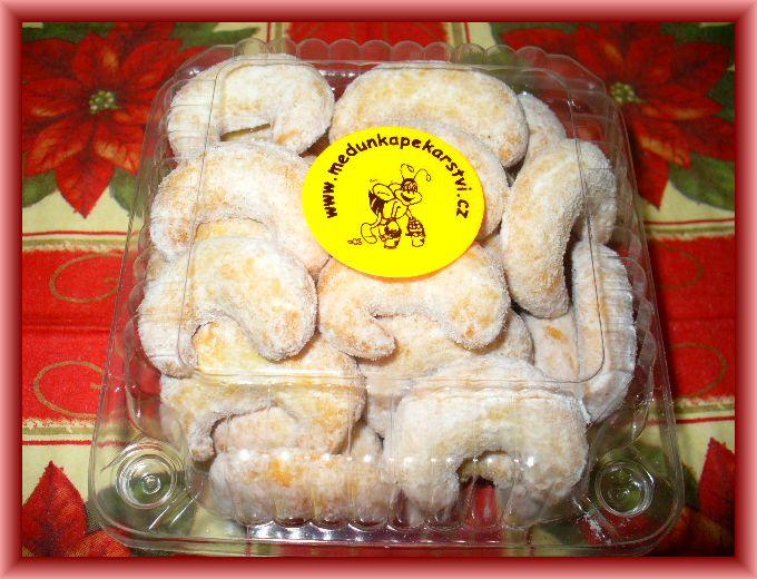 Vanilkové rohlíčky s mandlemi 200 g