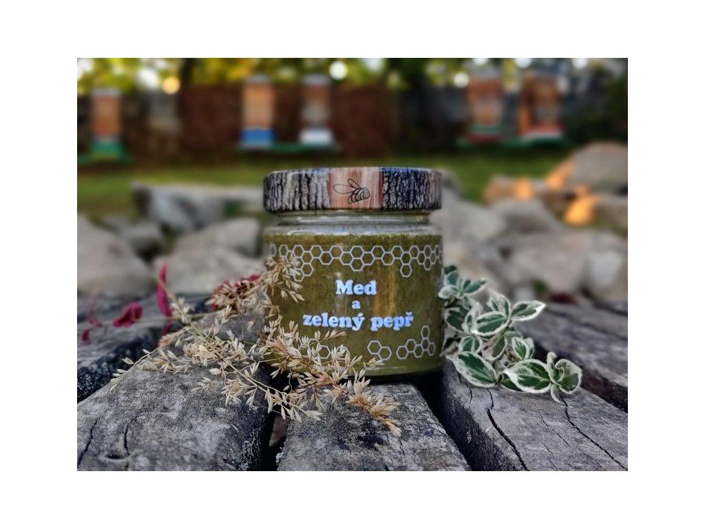 med a zelený pepř