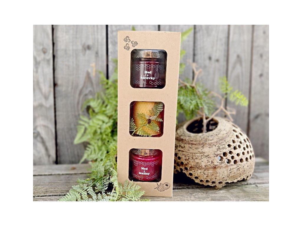 ovoce v medu dárek