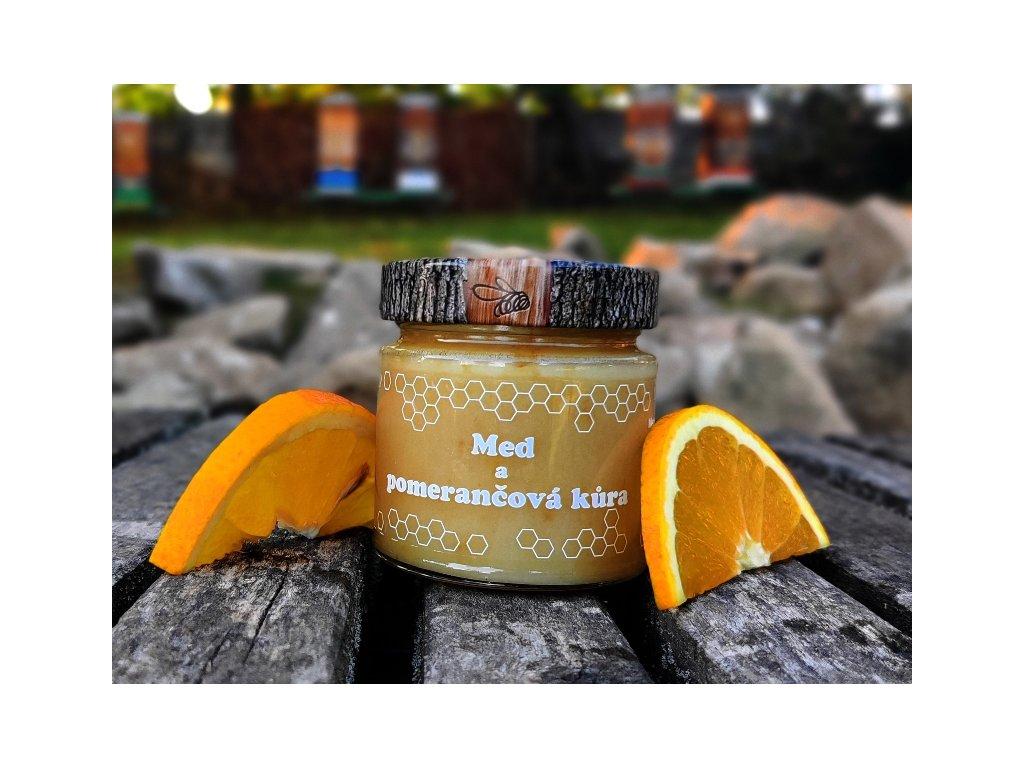 med a pomerančová kůra 1