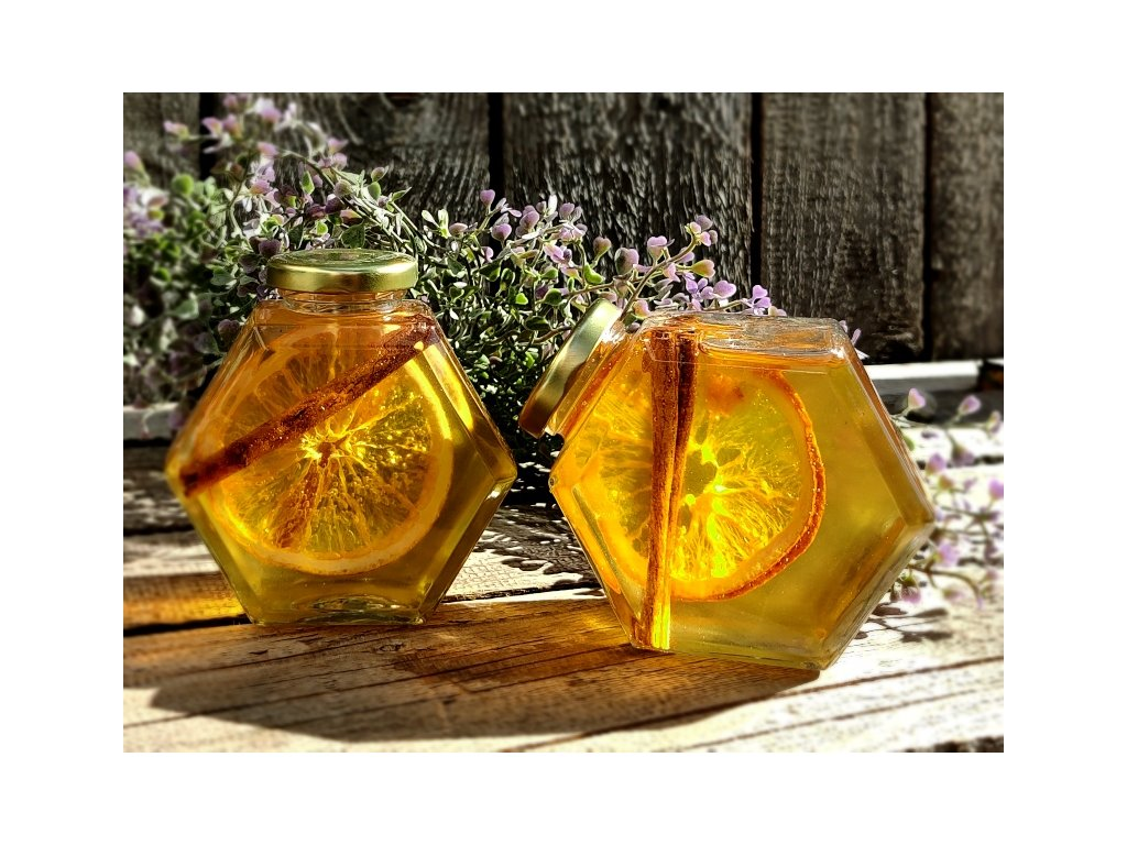 akátový med vánoční
