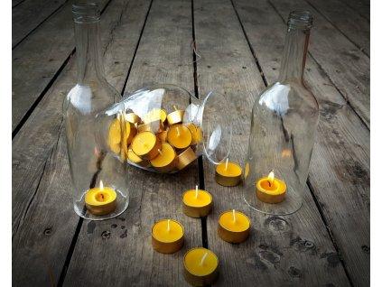 čajová svíčka z včelího vosku3