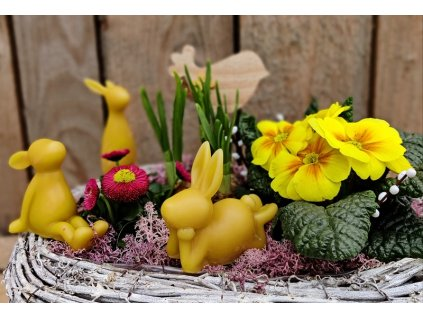 velikonoční dekorace včelí vosk