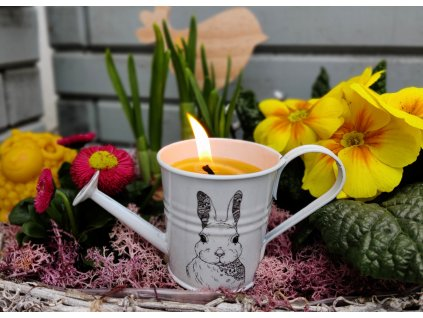 svíčka z včelího vosku velikonoční2