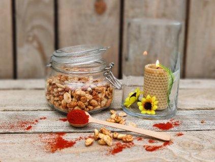 pražené arašídy uzená paprika