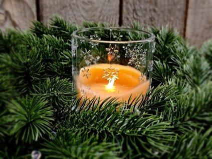 vánoční svícen 1