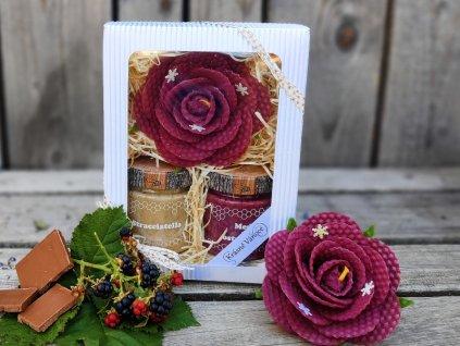 vánoční dárek růže 6