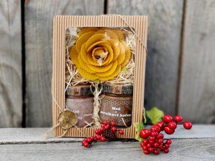 medový dárek švestky perník 2