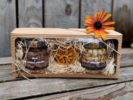medový dárek ořechový 1