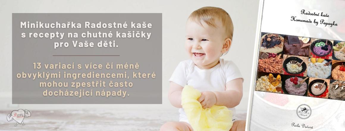 Minikuchařka radostné kašičky Pavla Dušová