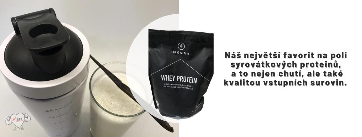 Orgainic Whey protein