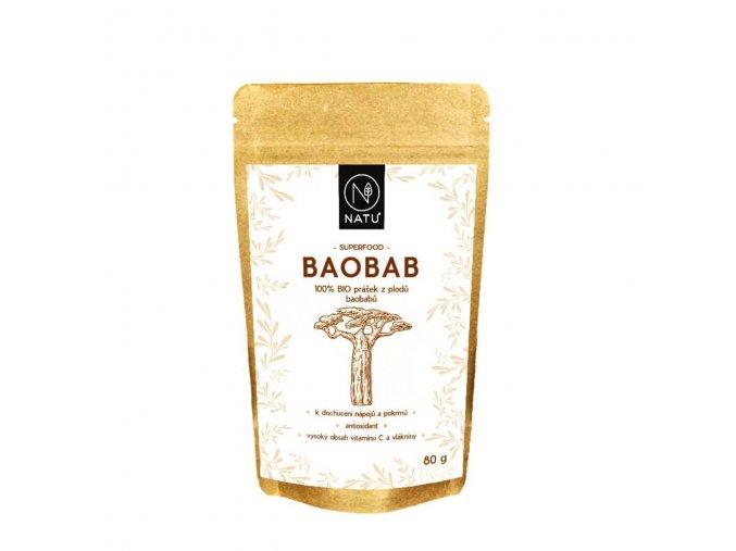 baobab raw bio prasek natu 80 g