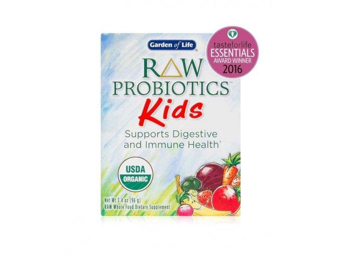 Raw probiotics kids organic garden of life 96g